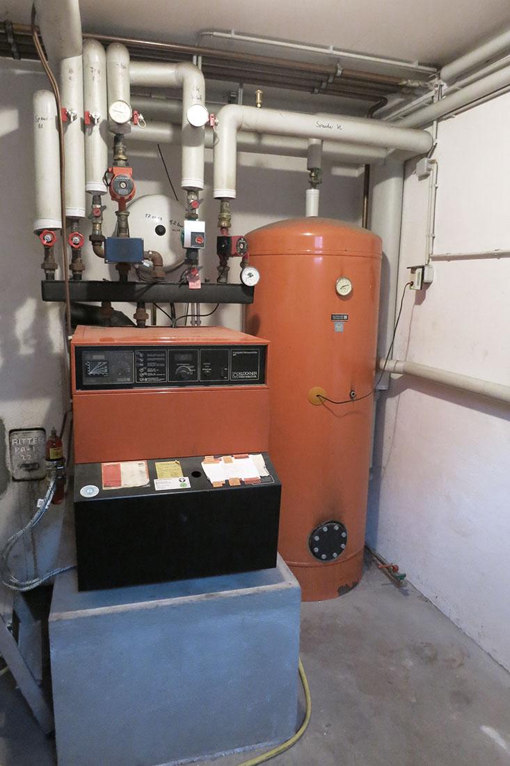 Alte Ölheizung ersetzt durch Vitoladens 300-C