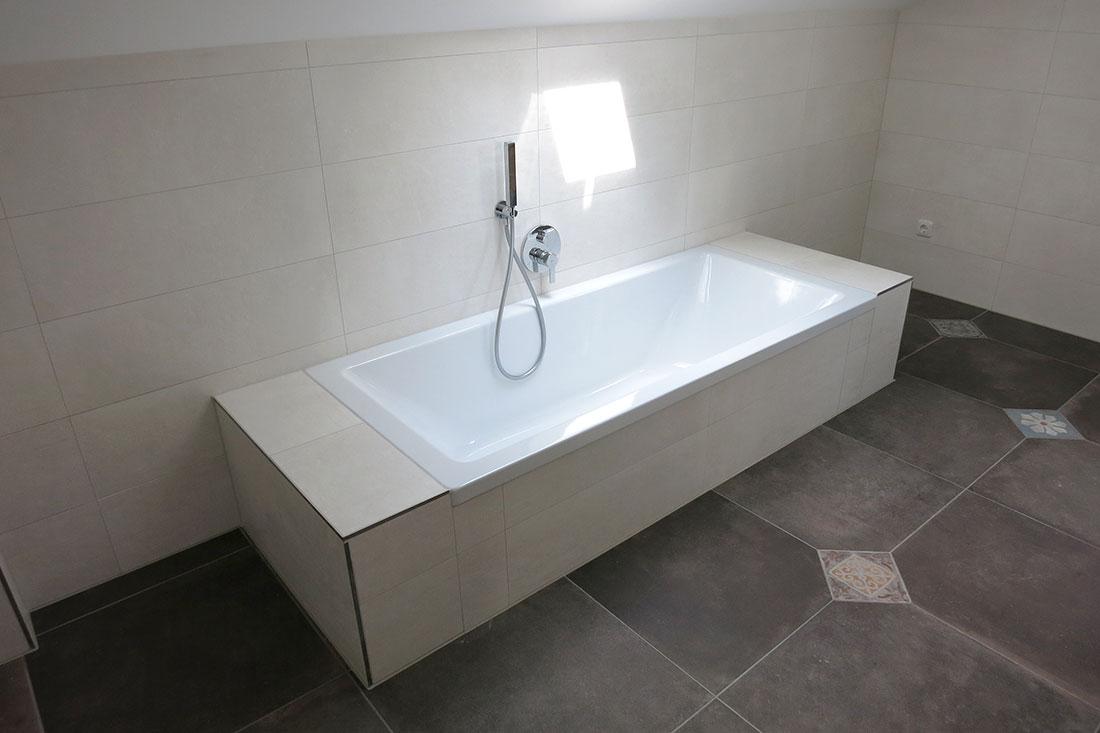 Badewanne aus emaillierten Stahl von Bette
