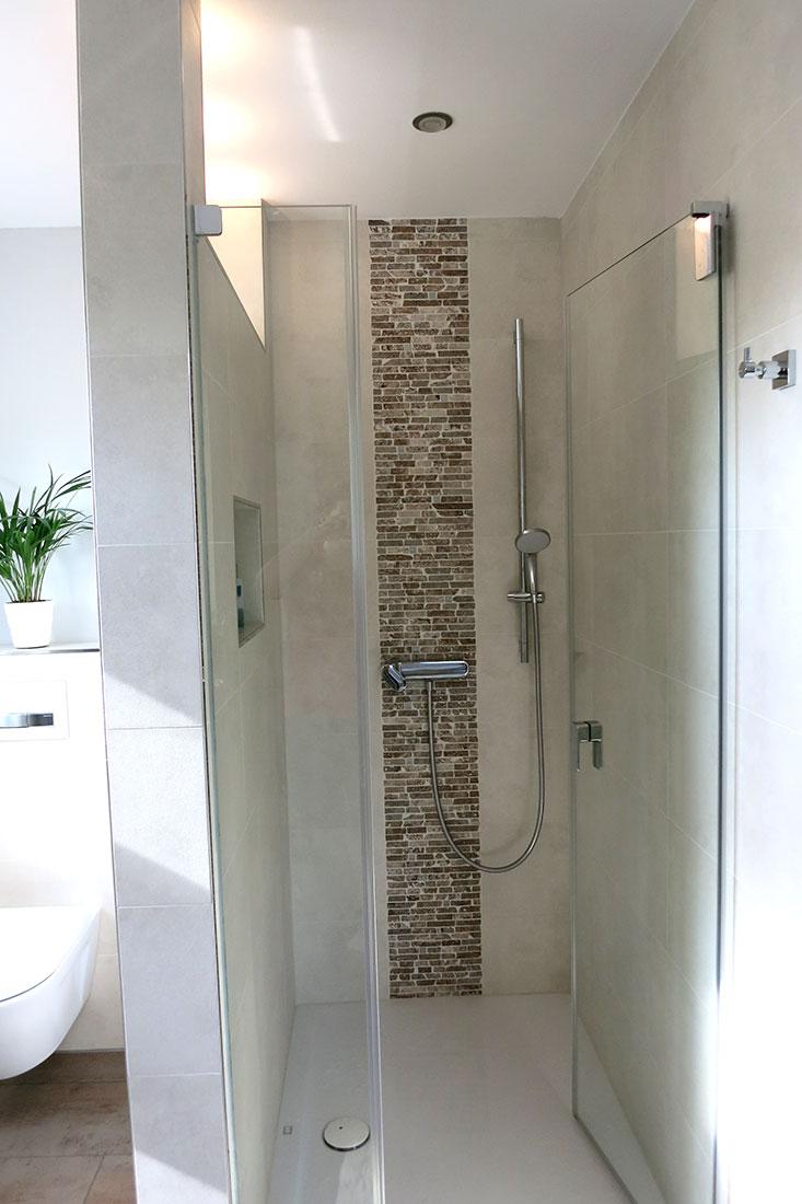 Duschanlage mit Armatur von Ideal Standard