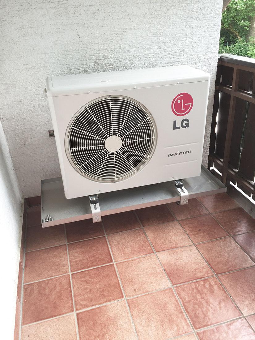 LG - Split-Klimagerät Außeneinheit