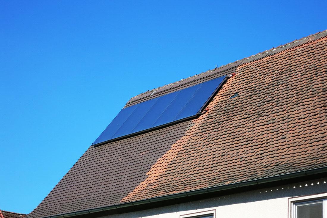 Wolf - Solaranlage zur Heizungsunterstützung